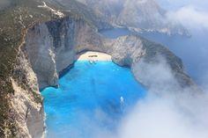 Shipwreck / Navagio beach Zakynthos island - Greeka.com   Greece   Greek islands