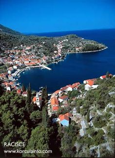 (Europe) - Racisce, Korcula, Croatia - birthplace of my grandparents