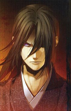 """Hijikata Toshizou...""""the demon commander"""". Hakuouki"""