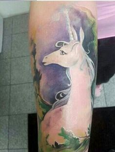tattoos of the last unicorn - Yahoo Image Search Results Funny Tattoos, Bad Tattoos, Time Tattoos, Future Tattoos, Tattoo You, Body Art Tattoos, Cool Tattoos, Tatoos, Mystical Tattoos