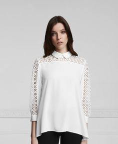 Slava shirt www.annefontaine.com #annefontaine #whiteshirt #newcollection #fashion