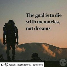 #Repost @reach_international_outfitters with @repostapp  Do you agree? Start living now! - - - #WeAreRio #RioTravelers  #Travel #backpacking  #backpackers #missions  #Adventure #Adventureisoutthere #GetOutside #GetOutside #Explore #exploremore #alpinebabes #wanderlust  #hiking #hikelife #Inspire #Philanthropy #OptOutside #adventures #adventurers #hikingadventures #traveler #wildernessculture  #landscape #waterfall #exploreeverywhere #instaview #adventuretime