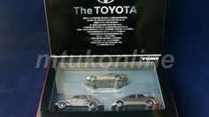 TOMICA TL   THE TOYOTA 3 MODELS   TOYODA AA   2000GT   PRIUS   COMPLETE
