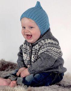 109 Tradisjon - Jakke og lue/hals - Køb billigt her - Crochet Pattern, Knitting Patterns, Knit Crochet, Crochet Hats, Designer Baby, Jack Wills, Young Ones, Baby Alpaca, Alpacas