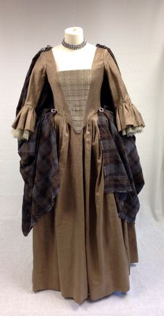 Costume designed by Terry Dresbach for Aislín McGuckin as Letitia MacKenzie on Outlander (2014-) From Terry Dresbach's Blog