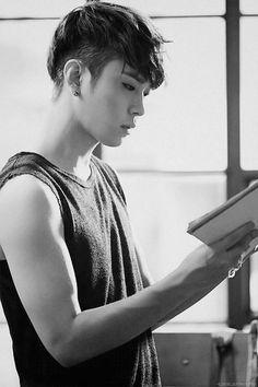 Junhyung from Beast Jimin, Yoon Doo Joon, Yong Jun Hyung, Yoseob, Pop Idol, Block B, Korean Celebrities, Korean Men, Asian Boys