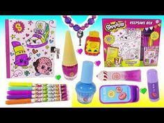 DIY SHOPKINS Secret Box! Stickers DIY Key Bracelet! Cute Squishy! Candy Lip Balm Nail SET! FUN - YouTube Shopkins, Color Changer, Keepsake Boxes, Stickers, Lip Balm, Diy, Youtube, Backpack, Pencil