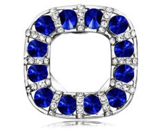 Shop for Square Scarf Clip Brooches, OKA Jewelry Dual Use Sapphire Crystal Brooch Pin Silver stands out for the sapphire crystals. Scarf Rings, Crystal Brooch, Square Scarf, Brooch Pin, Sapphire, Crystals, Silver, Wedding, Jewelry