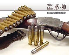 Sharps Rifle in .45-90