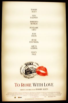 Woody Allen's To Rome With Love