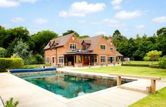 Surrey home with pool