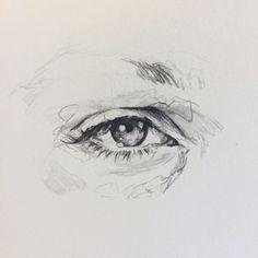 Amazing Learn To Draw Eyes Ideas. Astounding Learn To Draw Eyes Ideas. Pencil Art, Pencil Drawings, Art Drawings, Illusion Kunst, Realistic Eye Drawing, Look Dark, Art Hoe, Prismacolor, Art Sketchbook
