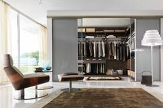 Every trend and wardrobe-acutely aware individual has fantasized about their very own completely coordinated, immensely spacious, luxuriously designed... - #beautifulwardrobes #closets #euromobil #greatwardrobedesigns #modernwardrobedesigns #wardrobedesigns #wardrobes #homedecor Check more at http://www.futurahomedecorating.com/furnitures/dream-closets-by-italian-designers-gruppo-euromobil/