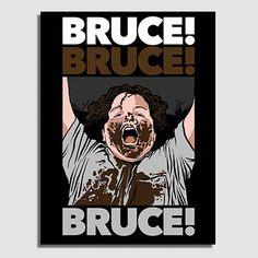 Impresos: Canvas Bruce Bolaños (Matilda) Tv y Cine Humor