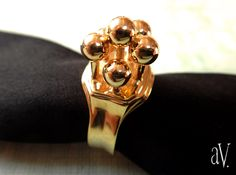 Beautiful Jewellery. Specially made for you. http://www.shapeways.com/shops/avantverite Gold plated version