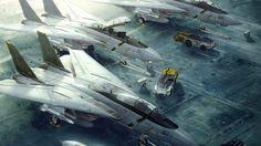 artwork, Aircraft, Ace Combat HD Wallpaper Desktop Background