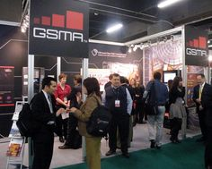 The GSMA stand