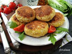 Ala piecze i gotuje: Klopsy z jajek Salmon Burgers, Eggs, Cooking, Ethnic Recipes, Food, Art, Kitchen, Art Background, Essen