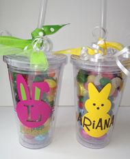 Personalized Easter Acrylic Tumbler with Lid and Straw*
