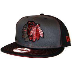 Mens Chicago Blackhawks Snapinpop 9Fifty Snapback by New Era. $26.95. New Era