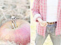 Autumn Engagement Photos | Green Wedding Shoes Wedding Blog | Wedding Trends for Stylish + Creative Brides