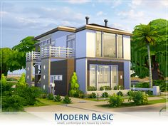Modern Basic by Lhonna at TSR via Sims 4 Updates