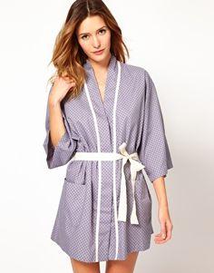 $90.24 Princesse Tam Tam 3/4 Kimono Robe