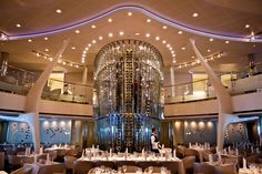 Main Dining Room aboard the Celebrity Eclipse ship
