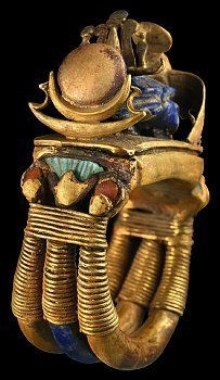 Ring from tomb of Tutankhamun, Located in the Egyptian Museum, Cairo