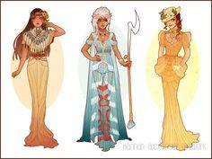 Reimagined Disney Princesses...the Detail! - Imgur