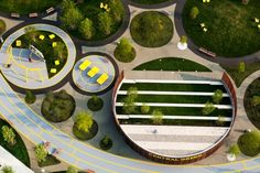 Chambres vertes au cœur du développement urbain Navy Yard à Philadelphie