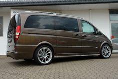 "Auto Tuning Galerie Mercedes Benz Vito - Mercedes Vito - 20"" ABT DR - Alufelgen: ABT DR Custom Painted - VA 9.0 x 20"" mit 245/40/20 HA 9.0 x 20"" mit 245/40/20 Auspuff: Custom Edelstahlabgasanlage - Bild ID 8582"
