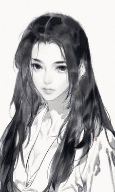 Pin on Paint / illustration Anime Art Girl, Manga Art, Art Sketches, Art Drawings, Photographie Portrait Inspiration, Arte Sketchbook, Digital Art Girl, Art Reference Poses, Beautiful Drawings