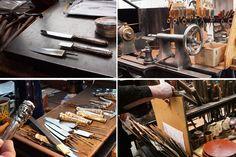 Die alten Werkzeuge und Skizzen helfen den Mitarbeitern dabei, solch ein Maleur wie eine abgebrochene Klinge problemlos wieder zu reparieren.