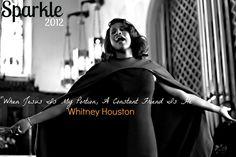 Sparkle Fan Art by Martin Yates - Whitney Houston #WhitneyHouston