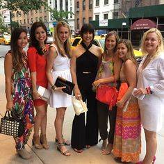 With the Trina Turk team @ the #handbagawards all wearing our #TrinaTurk bags