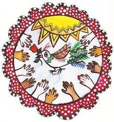 1007 Peace Mandala 2 - ID: 12993118 © KIKI  SUAREZ Use for MLK! Jr. Day