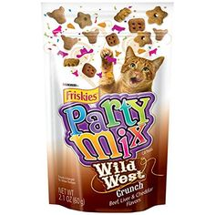 Wild West Friskies Party Mix Cat Treats * Check this awesome product by going to the link at the image. (This is an affiliate link and I receive a commission for the sales)