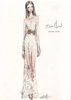 Illustration.Files: S/S 2014 Haute Couture Fashion Illustrations by Pippa McManus
