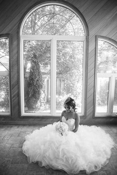 Wedding Photography - Wendy Alana Photography. Love the above shot with the dress all out.