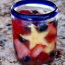 Red, White and Blue Sangria Recipe | Recipe Girl