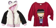 I could care less about Gwen Stefani, but these toddler clothes are cute!!!