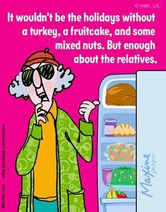 The Holidays - Funny Maxine!!