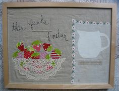 Applique and embroidery