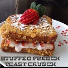 Utah Munchies: Stuffed French Toast Crunch-A Valentine Breakfast #2