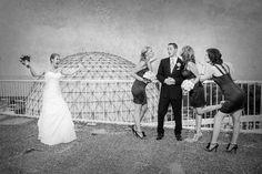 Love this pose!!  Toronto Wedding Photographer – Isbertophoto Wedding Co.