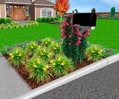 Garden Ideas Around Mailbox landscaping around mailbox | img 0285 225x300 mailbox garden idea