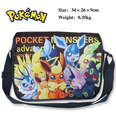Pokemon Shoulder Bag w/ Pikachu Type E
