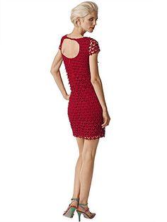 Kleid von ALBA MODA aus wunderschöner Spitze allover, blickdicht unterlegt