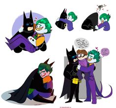 I finished the BatJokes I started some days ago Keep drawing a lot of OTPs in these days~ Batman Lego Movie ( Chris McKay; Warner Bros) The Lego Movie ( Phil Lord, Chris Miller; Warner Bros)